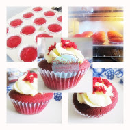 Red Velvet Cupcakes CreamCheese Frosting