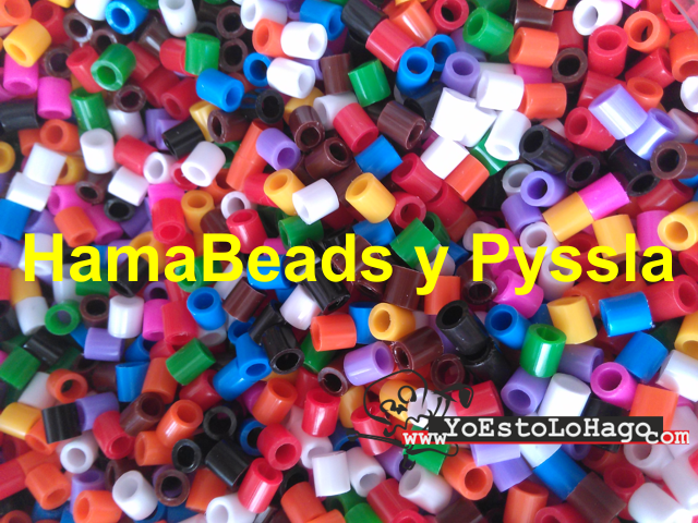 Hama Beads y Pyssla