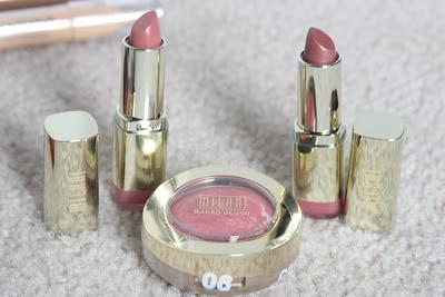 milani lipstick baked blush