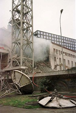 NATO bombing of the Radio Television of Serbia headquarters