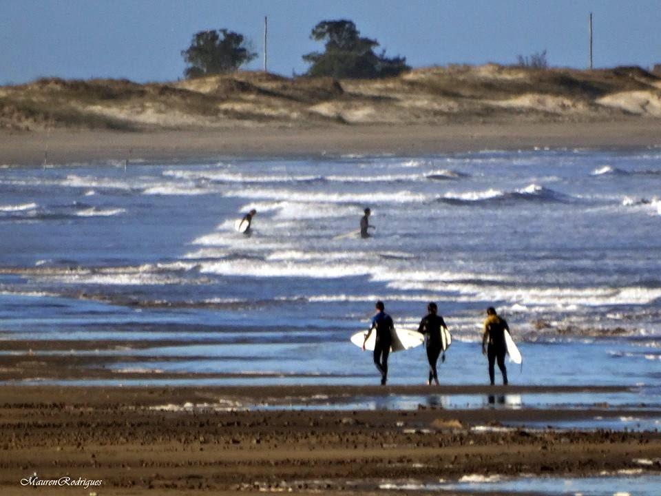 Surfista na Praia do Cassino