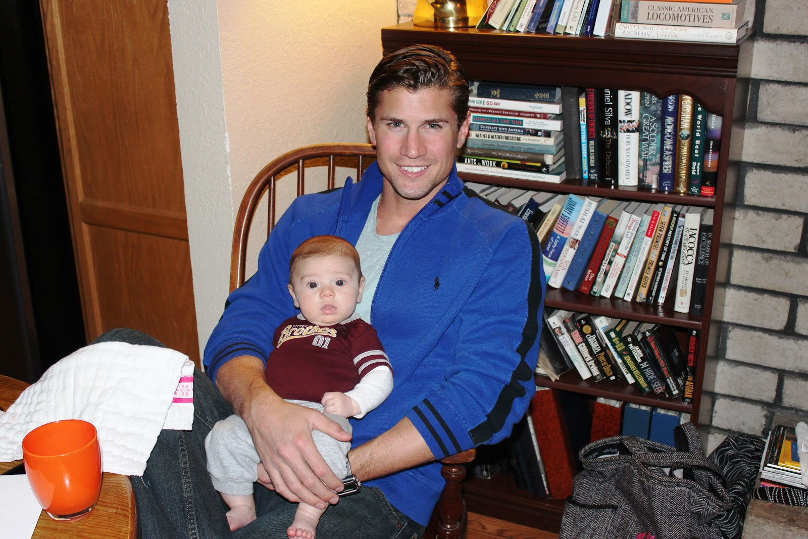 Credit: Meghan's Blog Photo: Drew Kenney with nephew Johnny