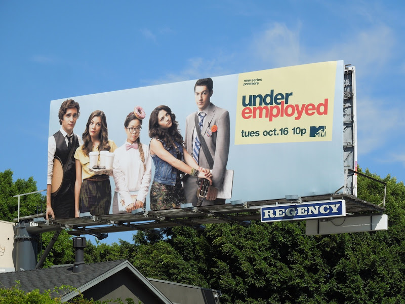 Underemployed MTV billboard