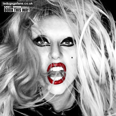 lady gaga born this way cover photo. lady gaga born this way cover