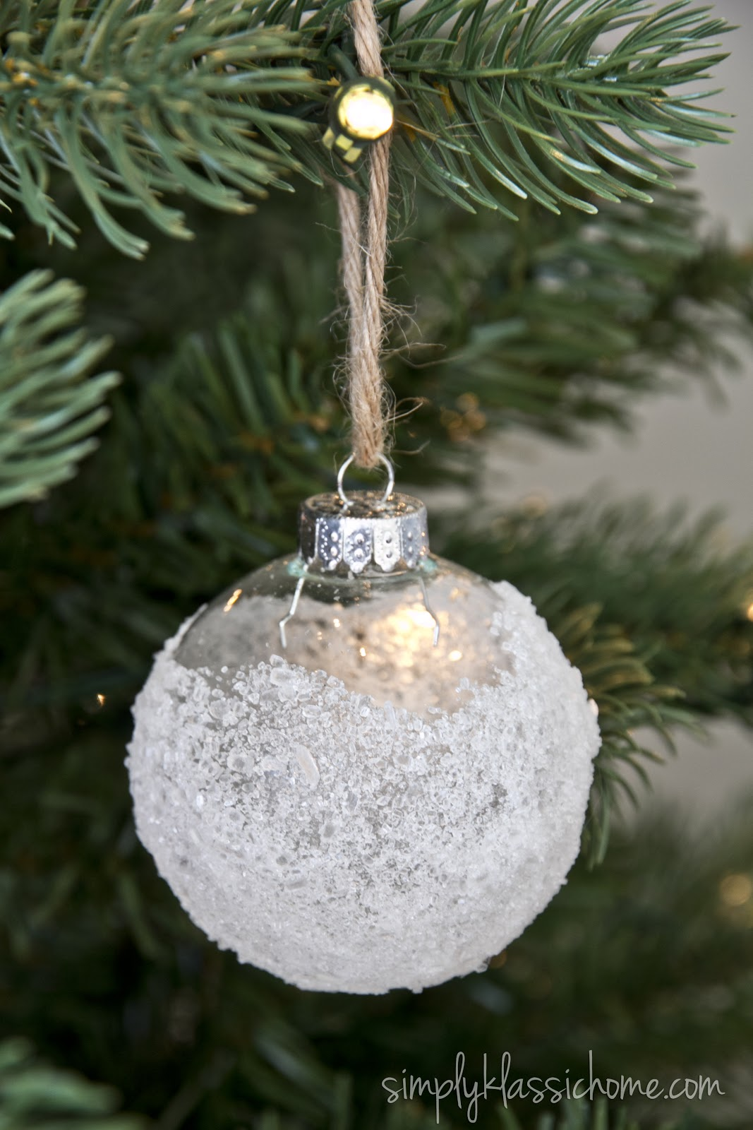 ten handmade ornaments in under an hour - Glass Christmas Bulbs For Decorating