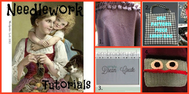 Needlework Tutorials Featured