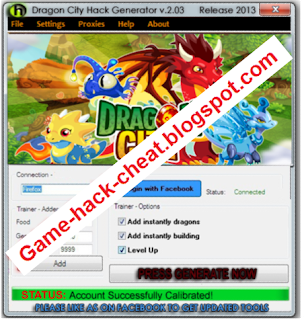 Download Dragon City - Hack Generator 2013 ~ Game-Hack-Cheat