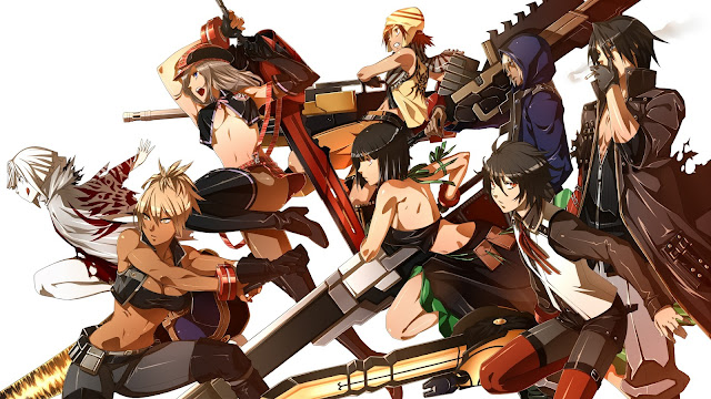 Anime Action Terbaik God Eater