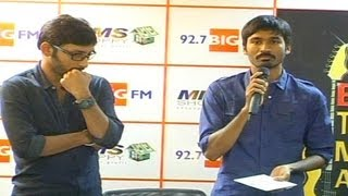 """HOW CAN WE ENJOY YOUR HARSH REVIEWS?"" – DHANUSH QUESTIONS RJ BALAJI"