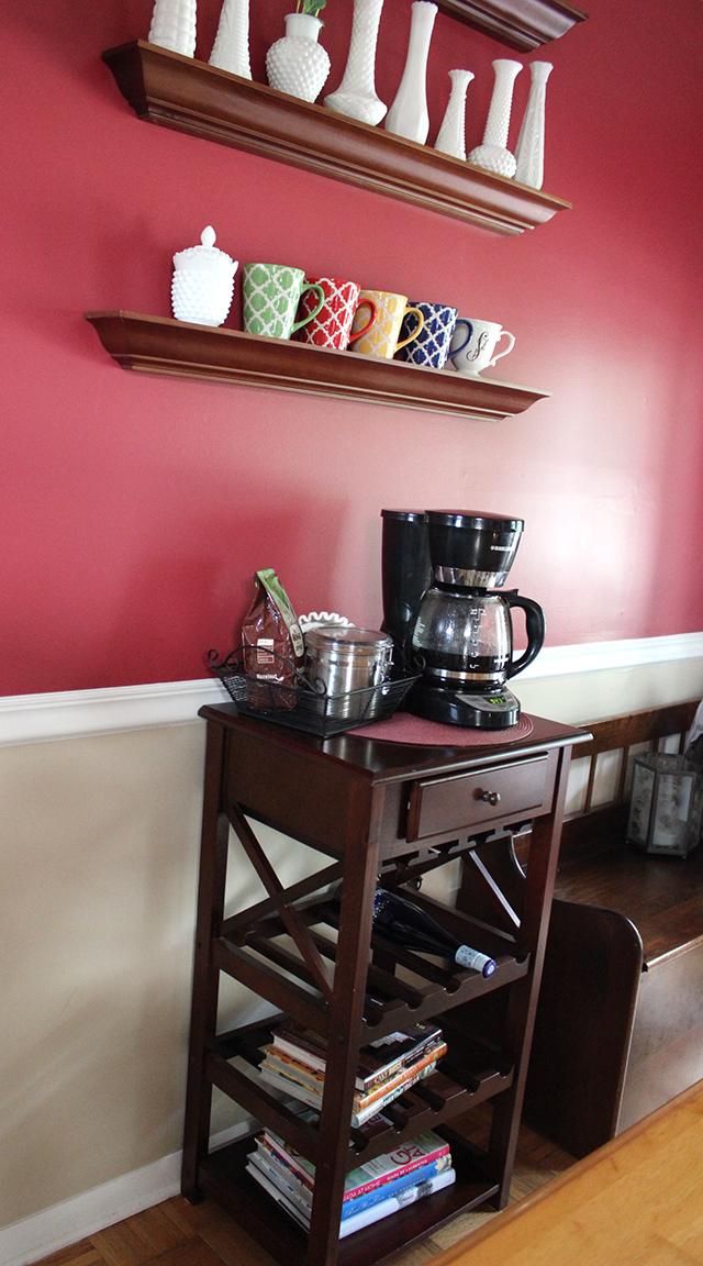 sohl design: mini coffee station