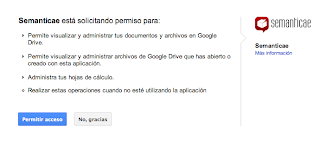 application to Google Drive