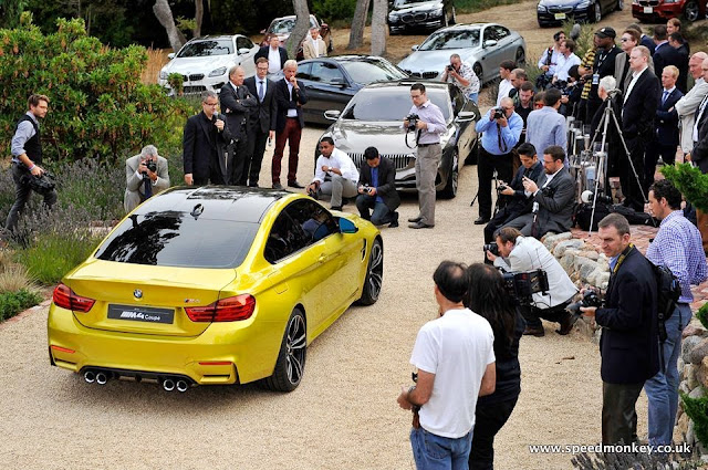 BMW M4 Coupe Pebble Beach