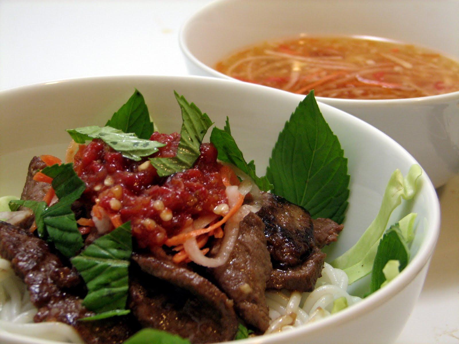 how to cook bun tau noodles