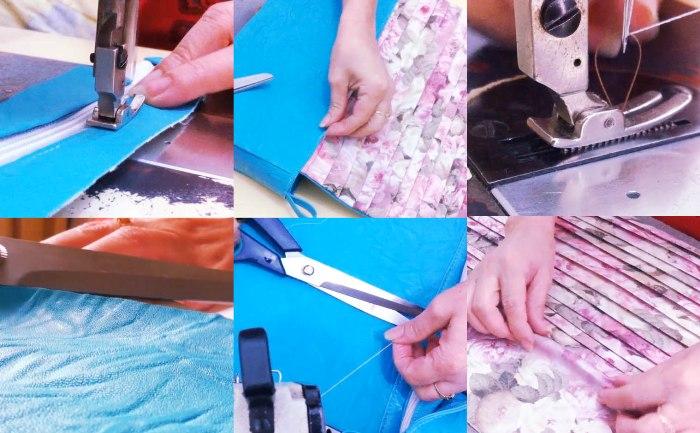 EUFRÓ_video da bolsa_como costurara uma bolsa_faça em casa_aprenda a costurar_venda de bolsas_bolsa floral_bolsa azul