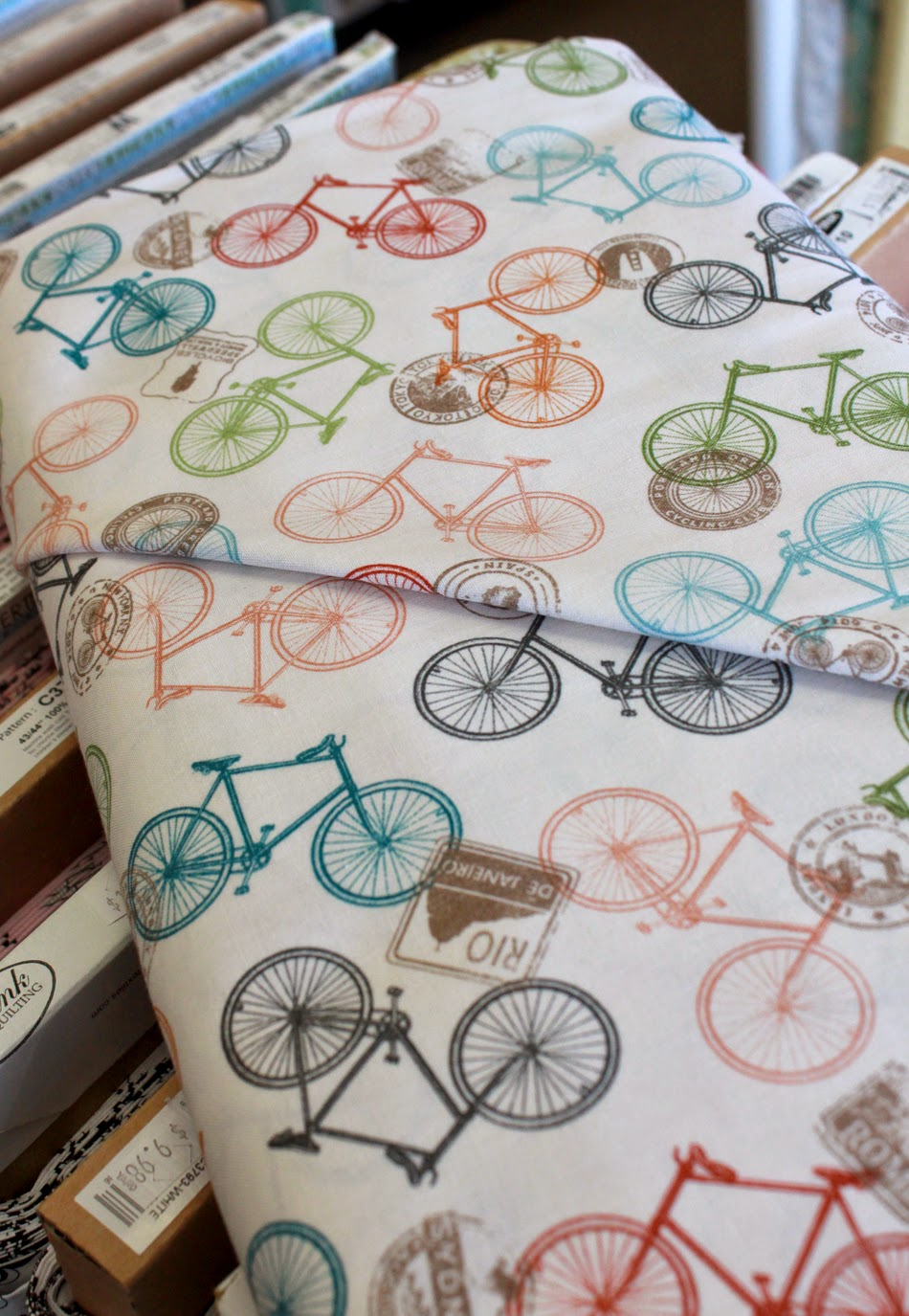 Cycling fabric at The Fabric Mill