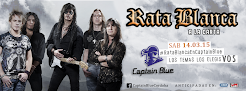 """RATA BLANCA EN EL """"CAPTAIN BLUE"""" - 14/03/2015"""