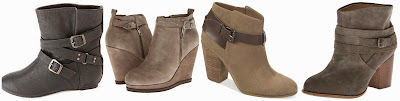 Charlotte Russe Belt Wrapped Slouchy Hidden Wedge Ankle Boots $21.49 (regular $35.99)  DV by Dolce Vita Peri $55.60 (regular $139.00)  Carlos Santana Harvest Belted Booties $59.99 (regular $69.00)  Splendid Laventa Boot $71.67 (regular $178.00) alternate link