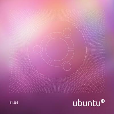 L'œuvre d'art officiel de disque d'Ubuntu 11.04