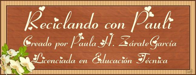 RECICLANDO CON PAULI