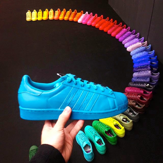 e3d666a7208 Pharrell and Adidas launch Supercolour sneakers - TheHive.Asia