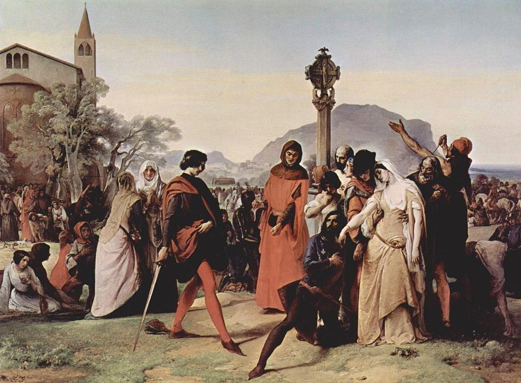 Vísperas Sicilianas, Carlos de Anjou