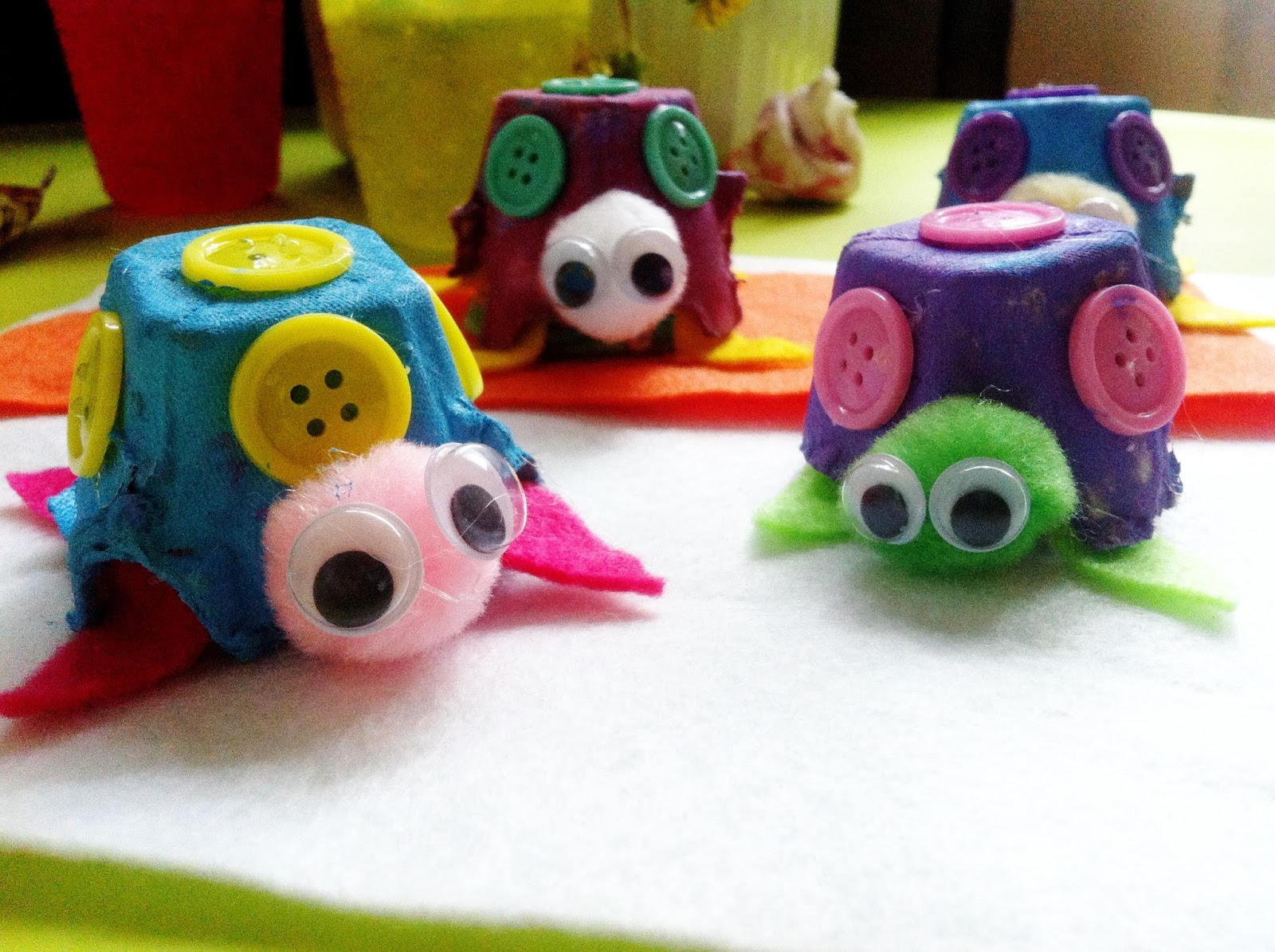 Egg carton craft ideas for kids art crafts projects for Cool art ideas for kids