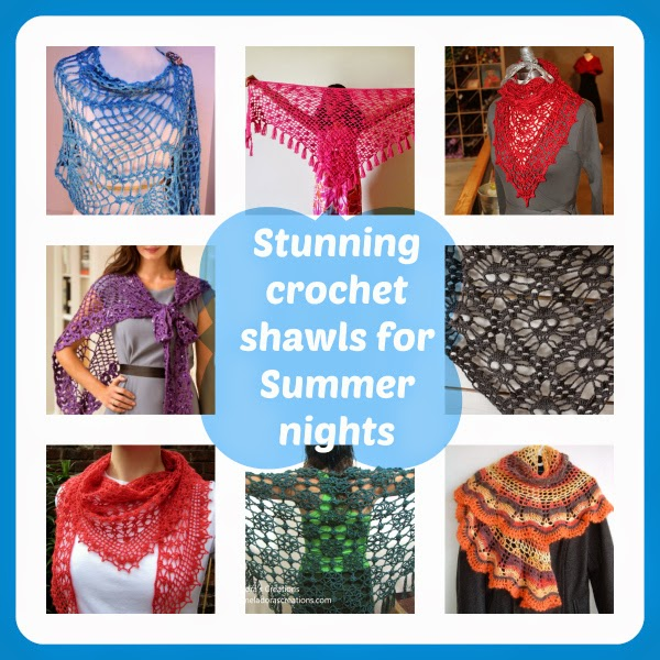 crochet lacy shawls, free crochet shawl patterns