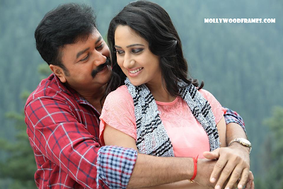 Jayaram and Mia George in Salaam Kashmir