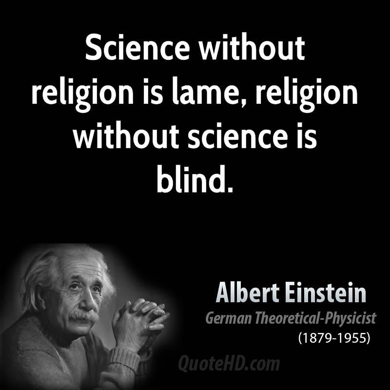 einstein essay religion