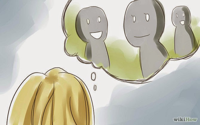 ប្រភពរូបភាព:http://www.wikihow.com/Stop-Feeling-Self-Conscious