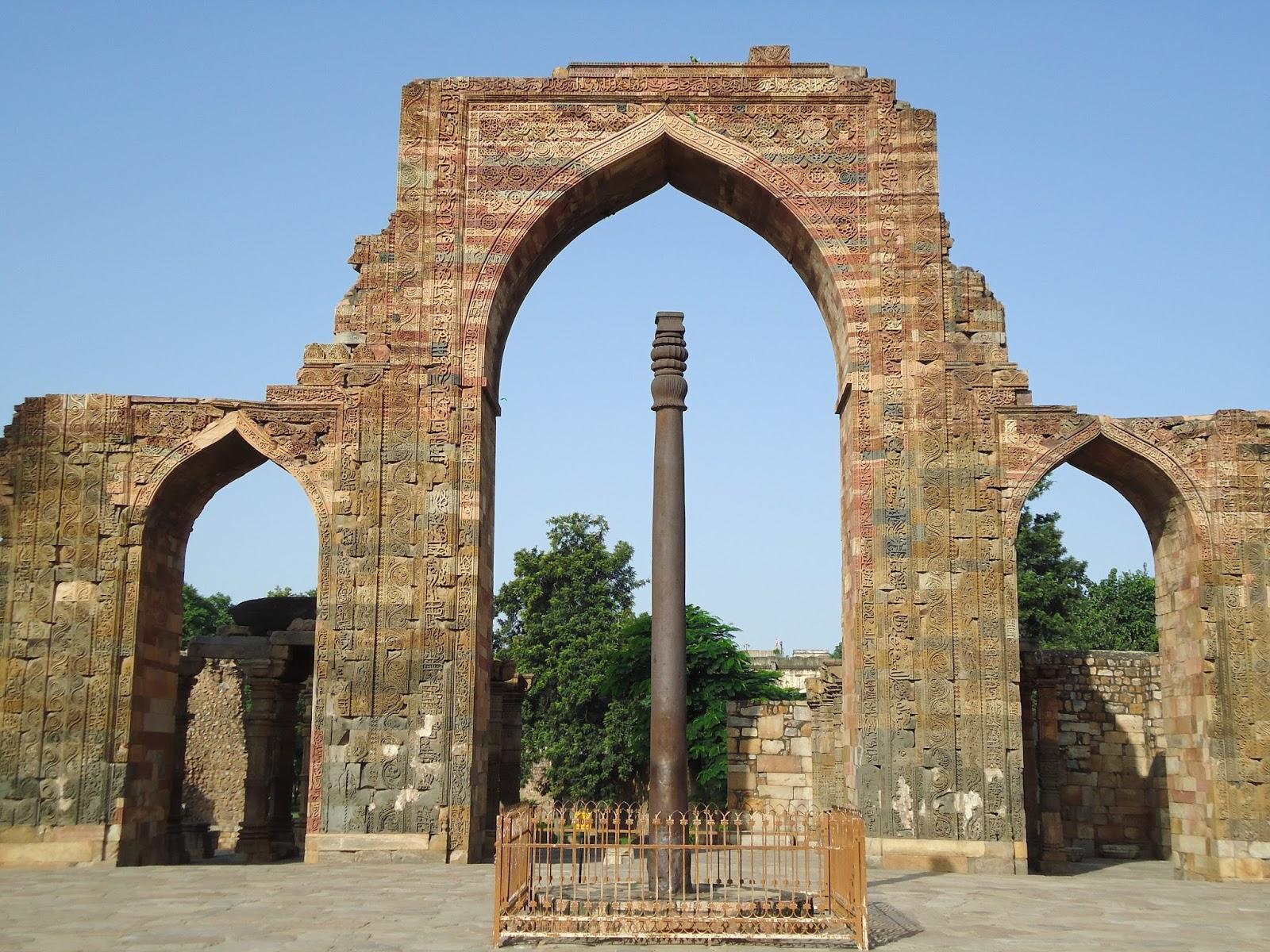 Delhi Heritage: Monume... Quwwat Ul Islam Mosque
