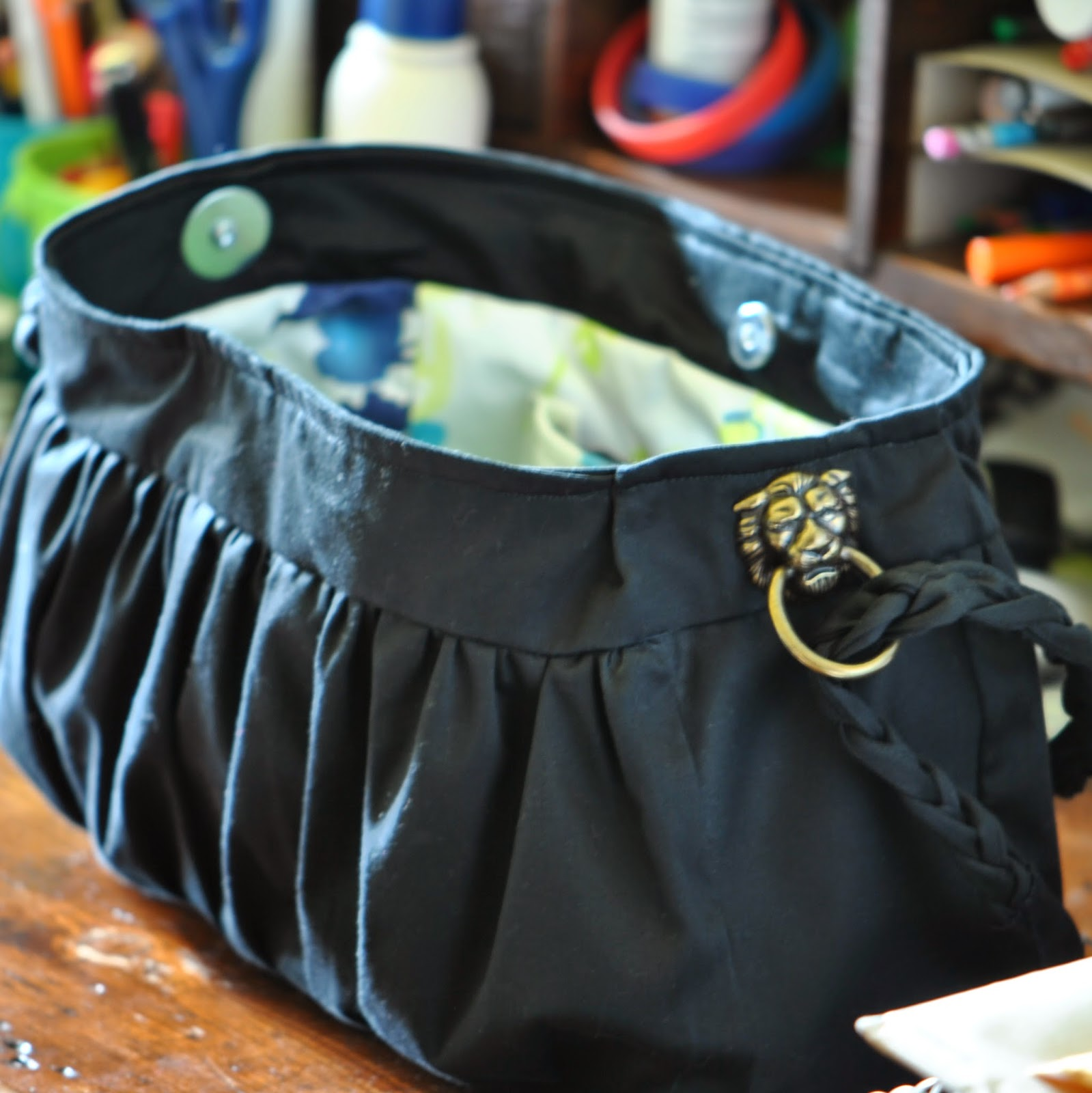 Ruched Purse