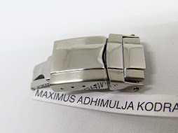 DEPLOYANT BUCKLE DOUBLE CLASP STAINLESS STEEL