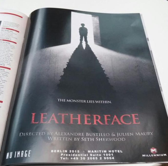 Vazou o primeiro pôster de Leatherface