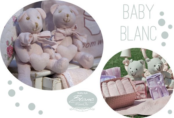 Shabby toys Baby Blanc Mariclò