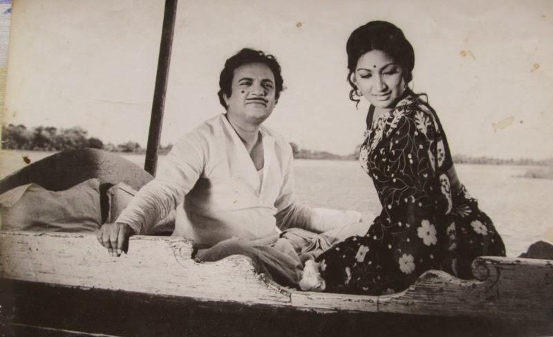 uttam kumar and arati bhattacharya in the bengali movie