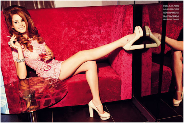 lana del ray vogue italia