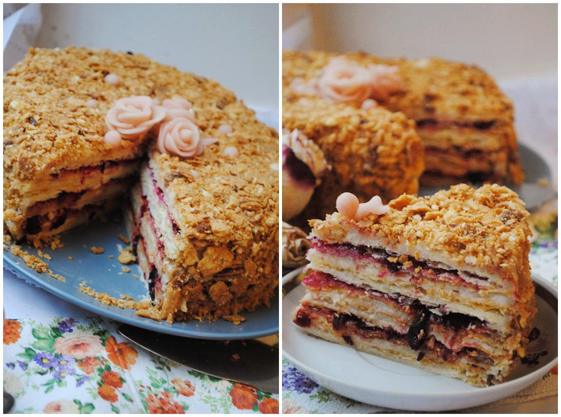 необычный рецепт торта наполеон