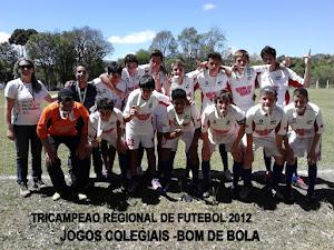 Equipe Tri Campeã Regional