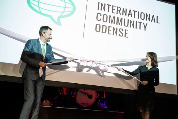 Princess Marie Opened The International Community Odense