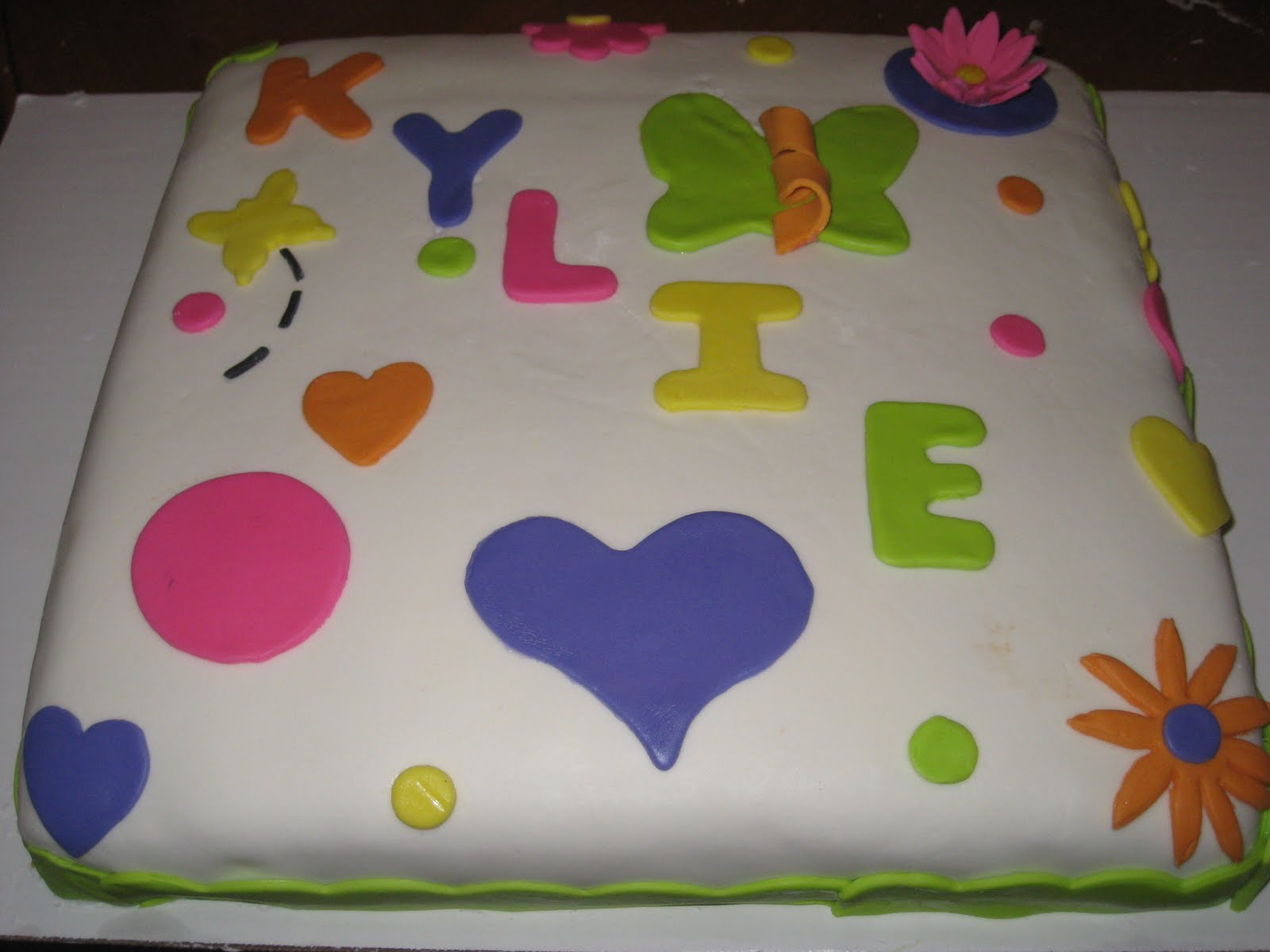 Cakes By Candice Happy Birthday Kylie