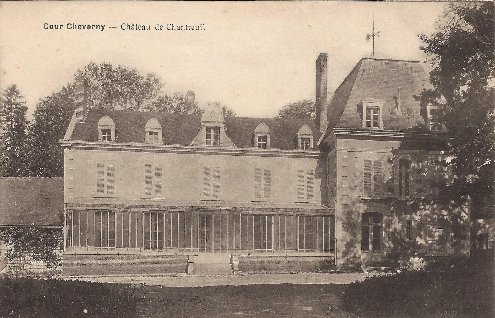 Château de Chantreuil - Cour-Cheverny
