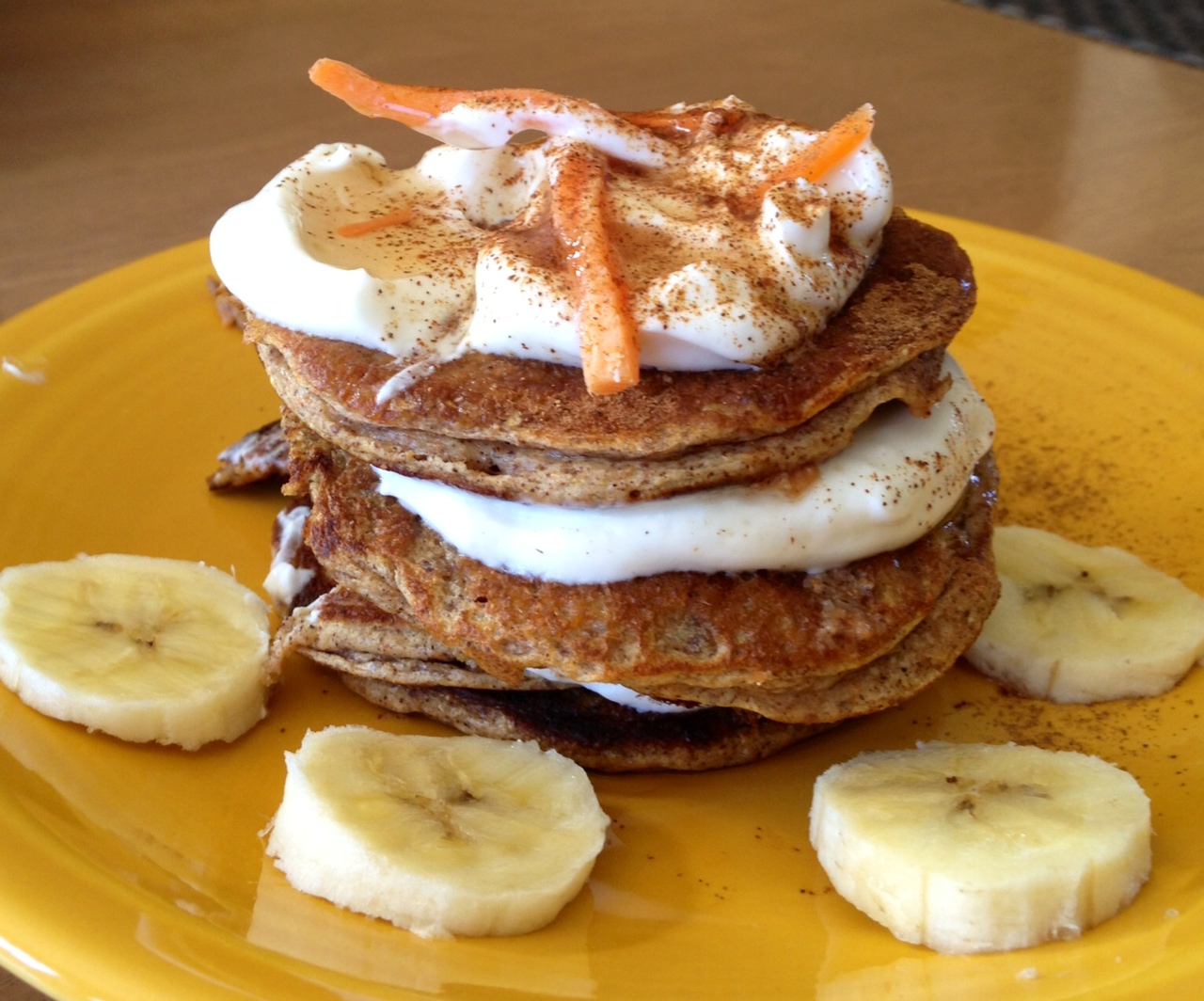 Pretty Little Feast: Carrot Cake Protein Pancakes