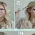 Cute Messy 4 Braid Updo Hairstyle Tutorial Step By Step