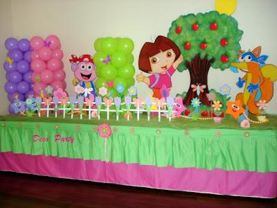 Decoración de Fiestas Infantiles de Dora la Exploradora