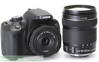 Harga Canon EOS 650D SLR Kamera Digital Terbaru 2012