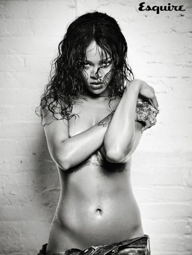 Rihanna posa para Esquire Magazine