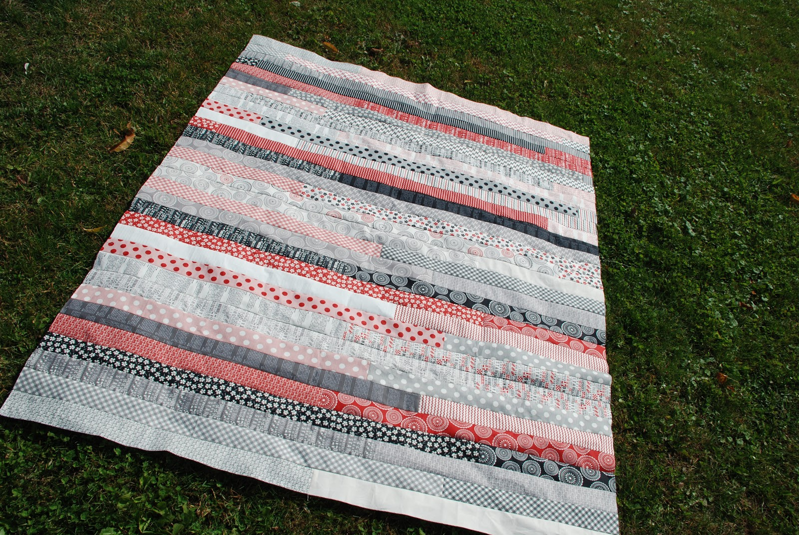 Quilt Pattern Jelly Roll Race : Spun Sugar Quilts: Jelly Roll Race #4