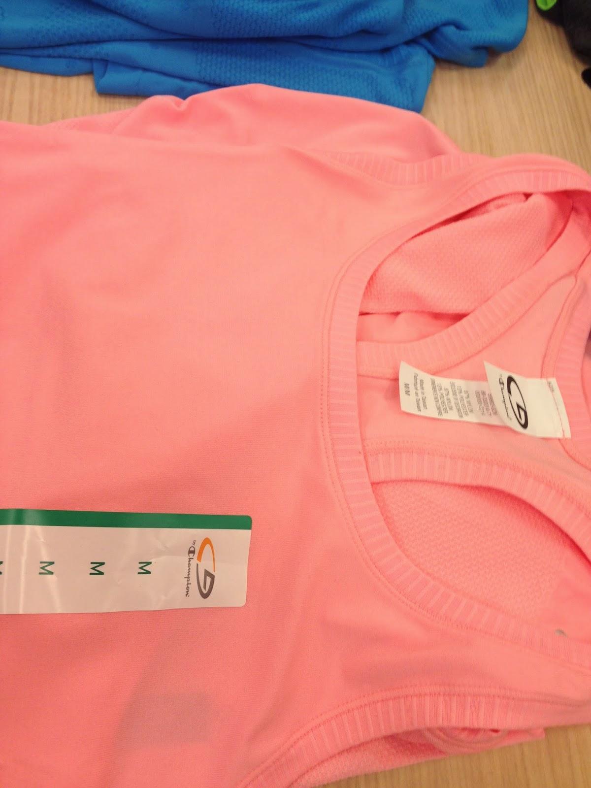 Style Athletics Hot Pink Orange Target C9 Tank Top