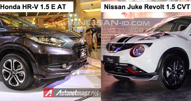 Perbandingan fitur terbaru nissan new juke yang tidak di for Nissan juke vs honda hrv